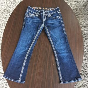 Cropped Rock Revival jeans from Buckle